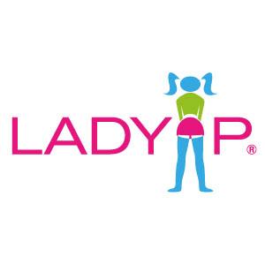 LadyP pisitölcsér logo