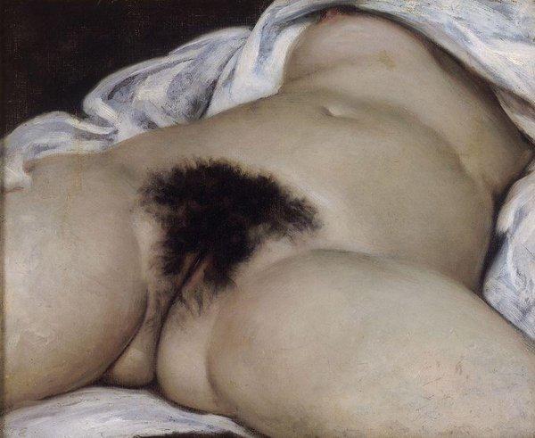 Gustave Courbet: L'Origine du monde (Musée d'Orsay)