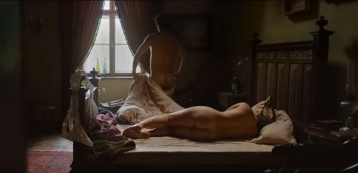 Blaskovich gróf és aznapi szeretője (Fotó: jelenet a Kincsem című filmből)